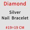 Nagel - # 19 Silber Diamant