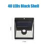 40 LED 검은 껍질