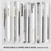 20 Pens Mixed-Black