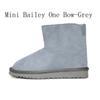 Mini Bailey One Bow - Grey
