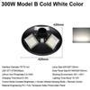 300W Model B Cold White Color