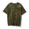 Modelo # 7 tie-tingido verde