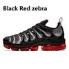 3 Zebra rouge noir 36-47