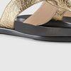#04 Metallic gold leather