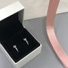 Silver Earring + BOX