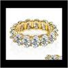 Round Stone Gold