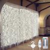 White with Hook-3mx1m 100led