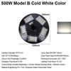 500W Model B Cold White Color