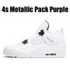 4s Metallic Pack - COURT PURPLE