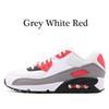 36-45 gris rouge blanc