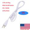 5ft US plug with switch