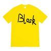 Amarelo + preto