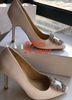 2 # 화이트 9.5cm 발 뒤꿈치
