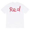 Branco + vermelho