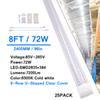 8FT 72W V 형 투명 커버
