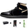 # 11 Yüksek OG Patent Siyah Metalik Altın 3
