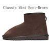Mini Boot-Brown classico