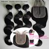 Body wave bundles with 4*1 closure