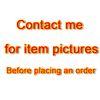 Entre em contato comigo para fotos de itens