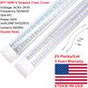 6ft 56W double rows clear cover tube