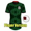 Player 21 22 mexico green + patchs