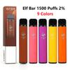 Elf Bar 1500 Puffs,% 2