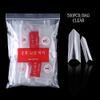 500PCS Bag Clear