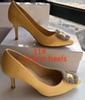 11 # 노란색 9.5cm 발 뒤꿈치