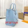 Blau 34 * 26 * 13 cm