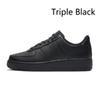 Negro triple