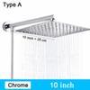 Type A - Chrome 10 pouces