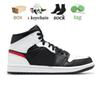 # A31 Mid Black Cile Rosso bianco 36-46