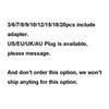 US/EU/AU/UK Plug (Message,dont order)