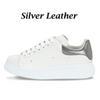 Silbernes Leder