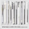 10 canetas Mixed-Black