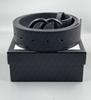 G11 # Boucle noire + ceinture noire