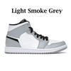 Fumée légère gris