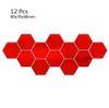 Red 12pcs / set (80x70x40mm)