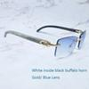 Whiteblk altın mavi
