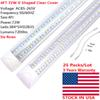 4ft 72W six rows clear cover tube