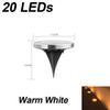20leds 따뜻한 흰색
