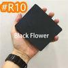 # R10 fiore nero