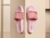 2018 New Rihanna Leadcat Fenty fashion Color Slipper Faux Fur Burgundy Slide Slippers Ladies Indoor Purple Pink Sandals