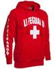 Wholesale- Autumn and winter 3 Side Print Lifeguard man Hoodie Sweatshirt Red Life Guard New Unisex XS-2XL