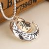 2019 High Quality Heart Jewelry I Love You To The Moon And Back Mom Pendant Necklace Mother Day Gift Wholesale Fashion Jewelry ZJ-0903221