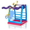 Monkey Unicorn Jungle Gym Playset Interactive Monkey Climbing Movement Stand Colorful Assembled Building Blocks Toys