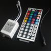 44 keys IR Remote Controller 3 Channels for Led Strips Light SMD3528 5050 RGB 12V 6A 2Pcs Lot