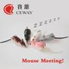Mouse Lure Fishing Tackle Artificial Lure Frog Baits Snakehead Killer Floating Soft Frog Fishing Lures Soft Rat Lure DISCOUNT FREE SHIPPING