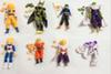 Hot Amine Dragon Ball Z 12-14cm Freeza Piccolo Vegeta Trunks Son Gohan Kuririn 8pcs set PVC Action Figures