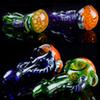 "Heady Spoon Pipes 3.5"" inch Wholesale Glass Pipes Honeycomb Dab Pipe Colored Oil Tobacco Pipes for Smoking High Quality Herbal Hand Pipes"